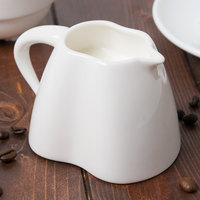 Chef & Sommelier S2017 Audace 6 oz. White Porcelain Creamer by Arc Cardinal - 16/Case