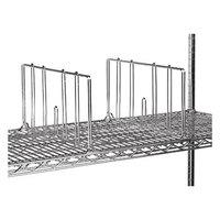 Advance Tabco SD-14 14 inch Chrome Wire Shelf Divider