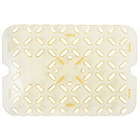 Vollrath 23200 Super Pan 1/2 Size Amber High Heat Drain Tray