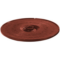 Carlisle 070329 Terra Cotta Lift-Off Replacement Lid for 071329 8 inch Tortilla Server - 12/Case