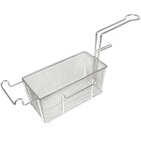 Bakers Pride 300189 13 inch x 6 inch x 5 1/2 inch Fryer Basket with Front Hook