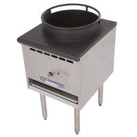 Bakers Pride BPSP-18J-16 Restaurant Series Natural Gas Wok Range with 16 inch Burner - 125,000 BTU