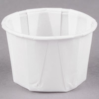 Solo 125-2050 1.25 oz. Paper Souffle / Portion Cup - 250/Pack