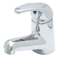 T&S B-2701 2.2 GPM Single Lever Faucet with 16 inch Supply Hoses, Temperature Limit Adjustment, and Cerama Cartridges