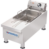 Bakers Pride HDEF-15S 15 lb. Electric Commercial Countertop Fryer - 240V