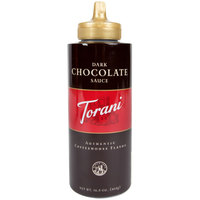 Torani 16.5 oz. Dark Chocolate Flavoring Sauce