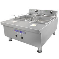 Bakers Pride HDEF-30T 30 lb. Electric Commercial Countertop Fryer - 208V