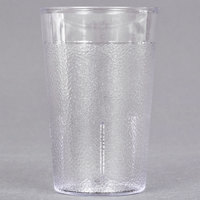 Carlisle 550107 5 oz. Clear SAN Plastic Stackable Tumbler - 72/Case