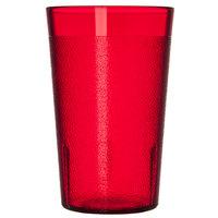 Carlisle 550610 9.5 oz. Ruby SAN Plastic Stackable Tumbler - 72/Case