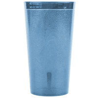 Carlisle 521654 16 oz. Blue SAN Plastic Stackable Tumbler - 72/Case