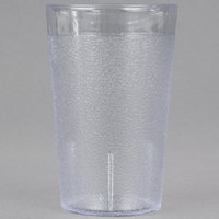 Carlisle 550607 9.5 oz. Clear SAN Plastic Stackable Tumbler - 72/Case