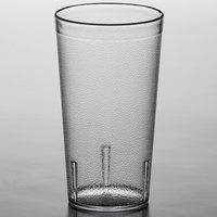 Carlisle 521607 16 oz. Clear SAN Plastic Stackable Tumbler - 72/Case