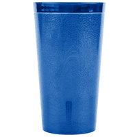 Carlisle 521647 Stackable 16 oz. Royal Blue SAN Plastic Tumbler - 72/Case