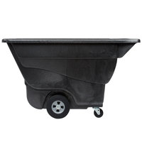 Rubbermaid FG9T1400BLA Black 0.5 Cubic Yard Tilt Truck (850 lb.)