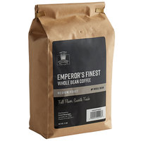 Crown Beverages 2 lb. Emperor's Finest Whole Bean Coffee - 5/Case