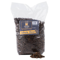 Crown Beverages Emperor's Finest Whole Bean Coffee 2 lb. Bag - 5/Case