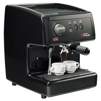Nuova Simonelli MOP140D204-BLK GROUND Black Oscar Professional Espresso Machine - Direct Connection, 110V
