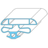 Anthony 02-14802-0005 Equivalent Magnetic Door Gasket - 26 1/8 inch x 44 3/8 inch