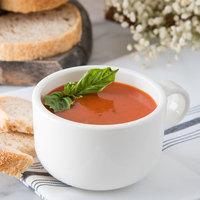 Carlisle 741002 White 10 oz. Polycarbonate Jumbo Soup Mug - 24/Case