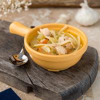 Carlisle 700622 Honey Yellow 8 oz. Handled Soup Bowl - 24/Case