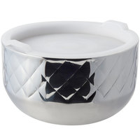 Bon Chef 9318DI Diamond Collection Cold Wave 1.7 Qt. Triple Wall Bowl with Cover