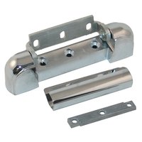 Kason 10217000012 5 3/4 inch x 1 1/8 inch Edge Mount Door Hinge with 1 3/8 inch Offset