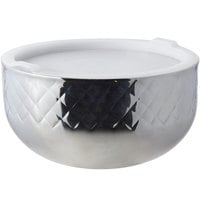 Bon Chef 9316DI Diamond Collection Cold Wave 7 Qt. Triple Wall Bowl with Cover