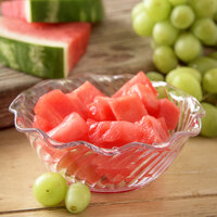 Carlisle 453407 Clear Polycarbonate 13 oz. Tulip Berry Dish - 24/Case
