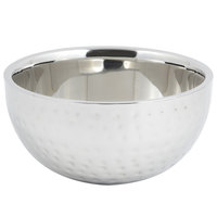 Bon Chef 61259 2 Qt. 8 oz. Hammered Finish Double Wall Bowl