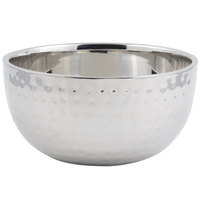 Bon Chef 61260 3 Qt. Hammered Finish Double Wall Bowl