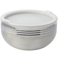 Bon Chef 9316 7 Qt. Triple Wall Cold Wave Bowl with Stacking Cover