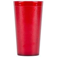 Carlisle 5116-210 16.5 oz. Ruby Polycarbonate Tumbler - 24/Case