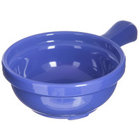 Carlisle 700614 Ocean Blue 8 oz. Handled Soup Bowl - 24/Case