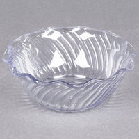 Carlisle 453307 Clear 13 oz. Tulip Berry Dish - 24/Case