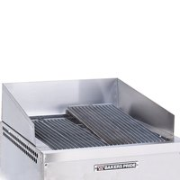 Bakers Pride 21886036 Dante Series Stainless Steel Splashguard