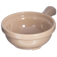Carlisle 700619 Stone 8 oz. Handled Soup Bowl - 24/Case