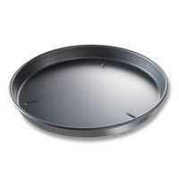 Chicago Metallic 91165 16 inch x 1 1/2 inch BAKALON Pre-Seasoned Aluminum Deep Dish Pizza Pan