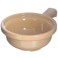 Carlisle 700819 Stone 12 oz. Polycarbonate Handled Soup Bowl - 24/Case