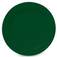 GET DP-510-HG Hunter Green 10 1/4 inch SuperMel Plate - 24 / Case