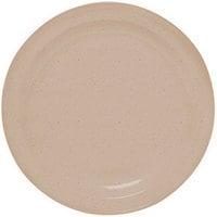 GET DP-507-S Sandstone 7 1/4 inch SuperMel Plate - 24 / Case