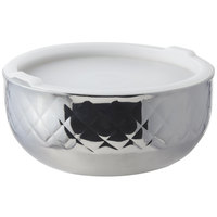 Bon Chef 9319DI Diamond Collection Cold Wave 3.4 Qt. Triple Wall Bowl with Cover