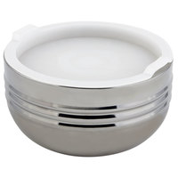 Bon Chef 9318 Cold Wave 1.7 Qt. Triple Wall Bowl with Stacking Cover