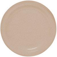 GET DP-506-S Sandstone 6 1/2 inch SuperMel Plate - 48/Case