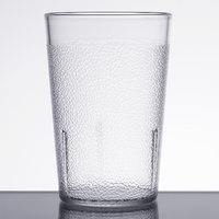 Carlisle 5108-207 8 oz. Clear Polycarbonate Tumbler - 24/Case
