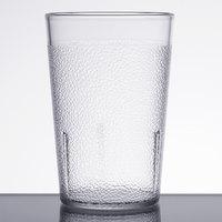 Carlisle 5108-207 8 oz. Clear Polycarbonate Tumbler - 24/Case