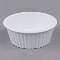 Carlisle 084402 White 2 oz. Fluted Ramekin - 48/Case