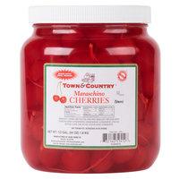 Maraschino Cherries with Stems - (6) 1/2 Gallon Jars / Case
