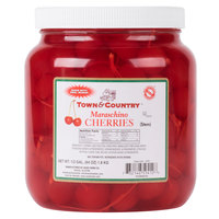 Maraschino Cherries with Stems - (6) 1/2 Gallon Jars / Case   - 6/Case