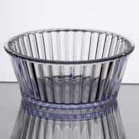 Carlisle 084507 Clear 4.5 oz. Fluted Ramekin - 48/Case