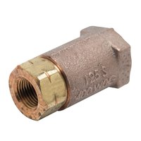 T&S B-CVH-38 Horizontal Check Valve with 1/2 inch NPT Female Connections